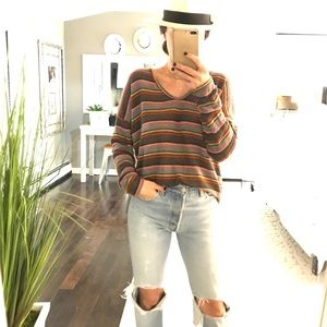 Live In The Moment x Anthropologie stripe Sweater